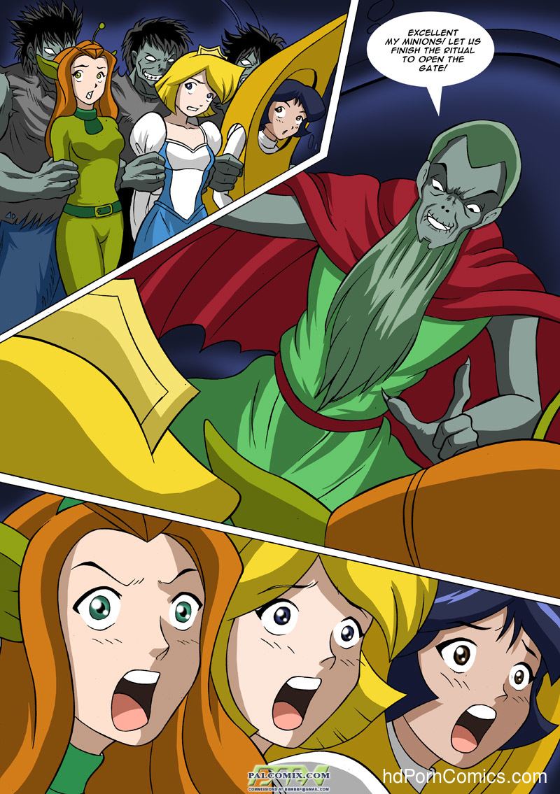 free cartoon porn totally spies - ... Totally Spies - Zombies are like, so well hung6 free sex comic