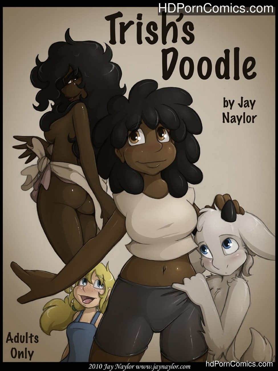 Trish's Doodle Sex Comic