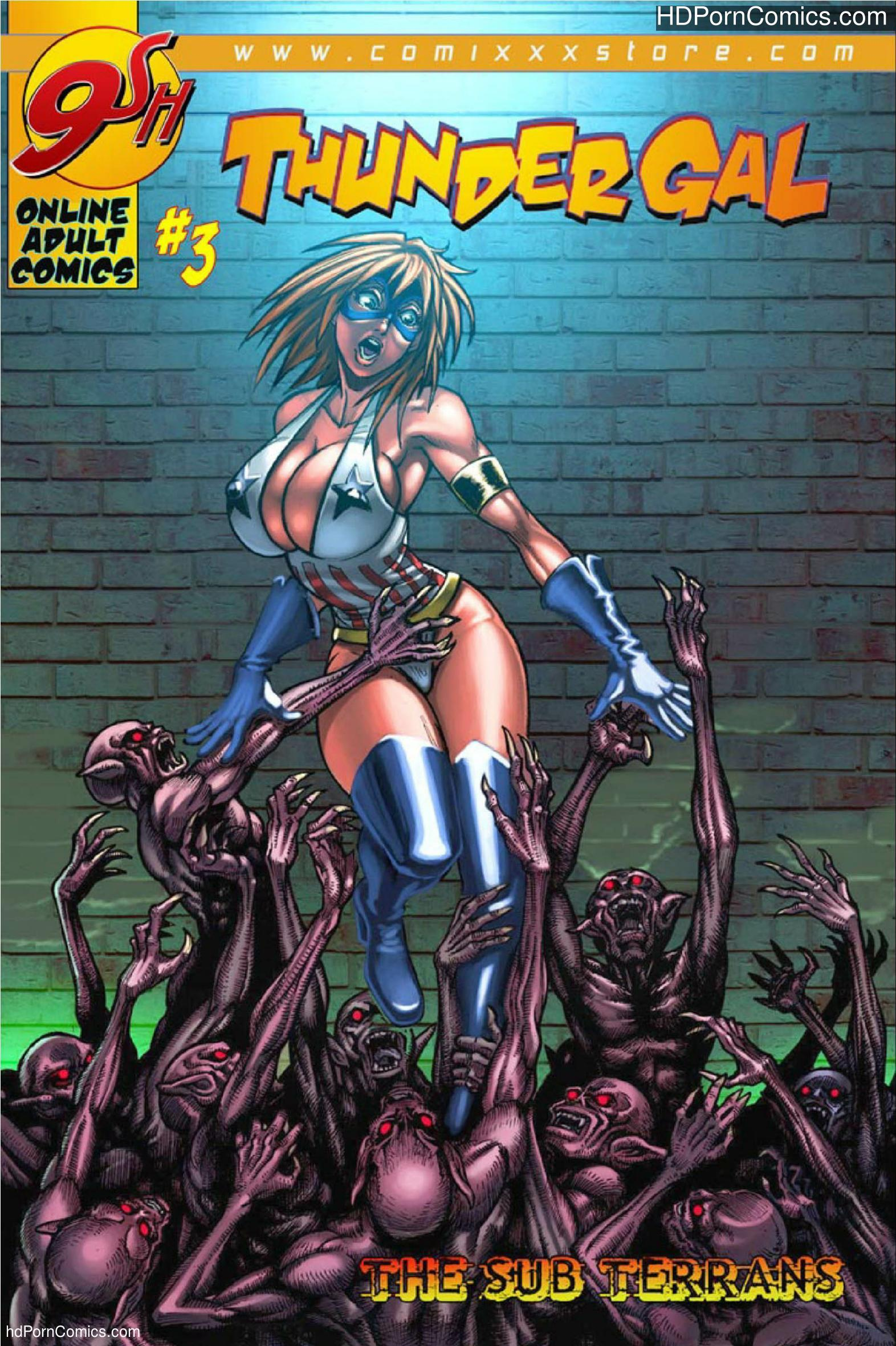 Tunder Gal- The Sub Terrans Part 1-5 free Cartoon Porn Comic