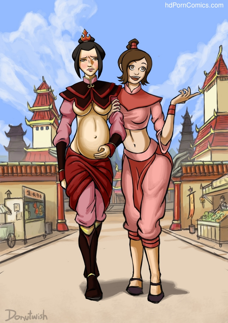 Ty Lee And Azula's Beach Fun Sex Comic