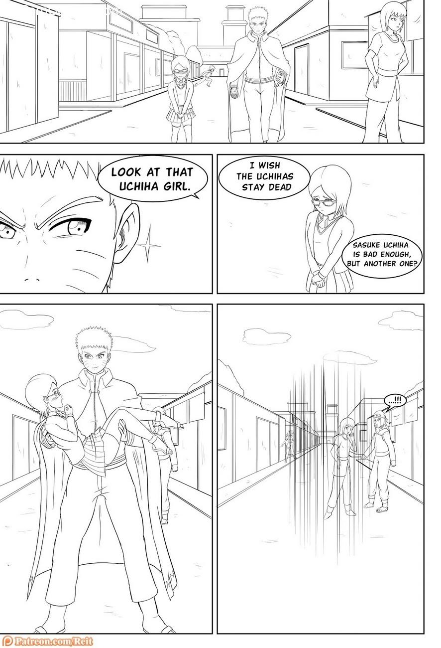 Uchiha In Blossom 4 free sex comic