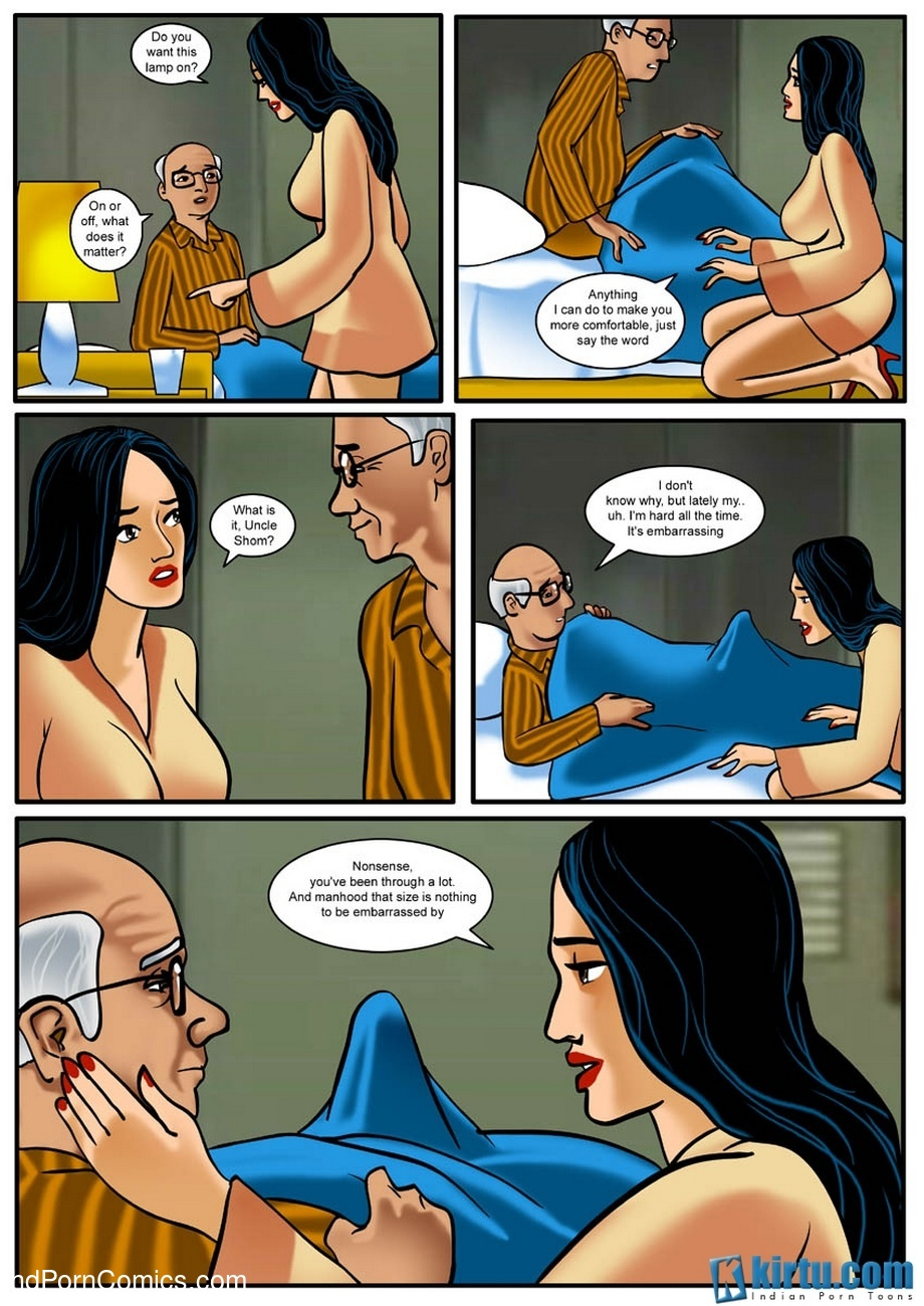Uncle Shom 1 - How Far Would You Go To Comfort A Loved One 24 free sex comic