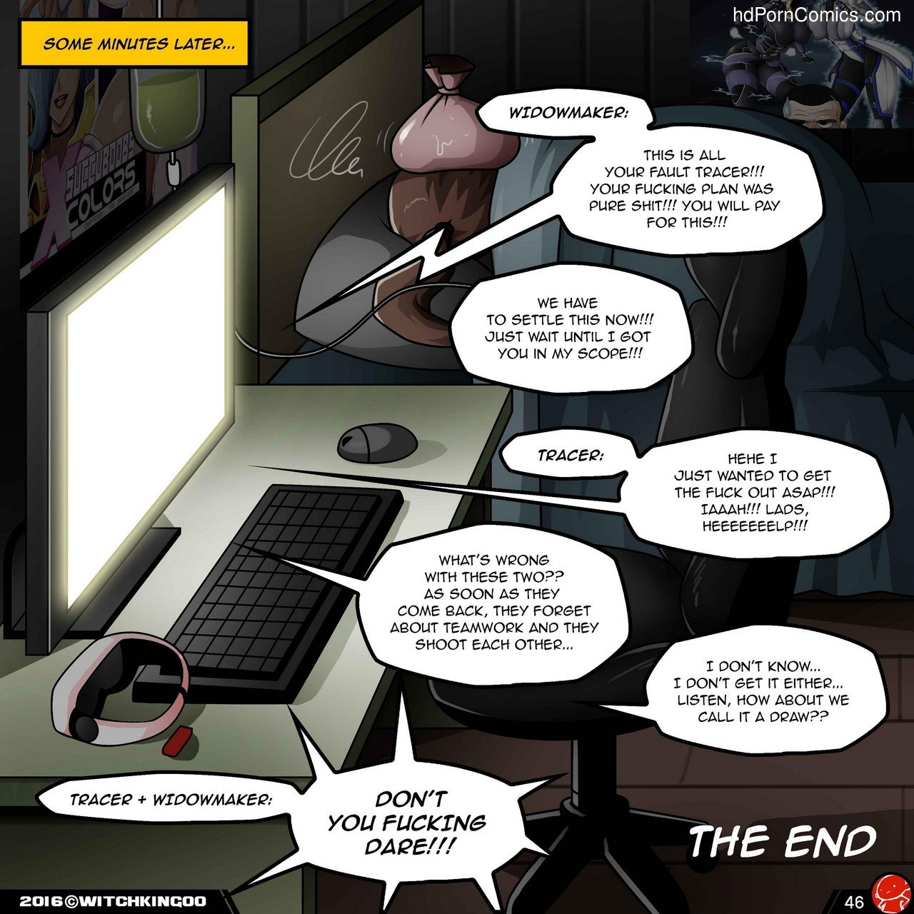 VR The Comic Sex Comic