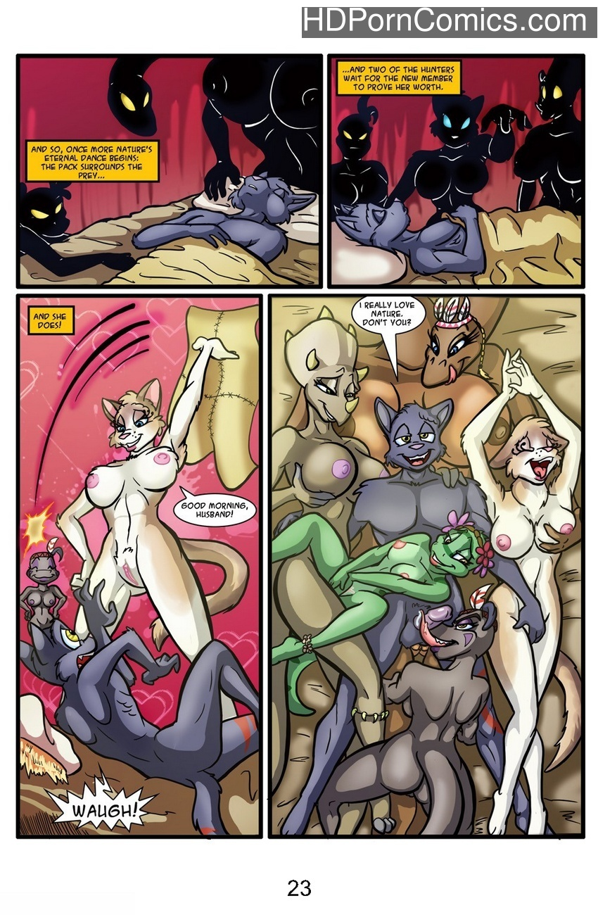 Valley Of The Thunder Ladies Sex Comic