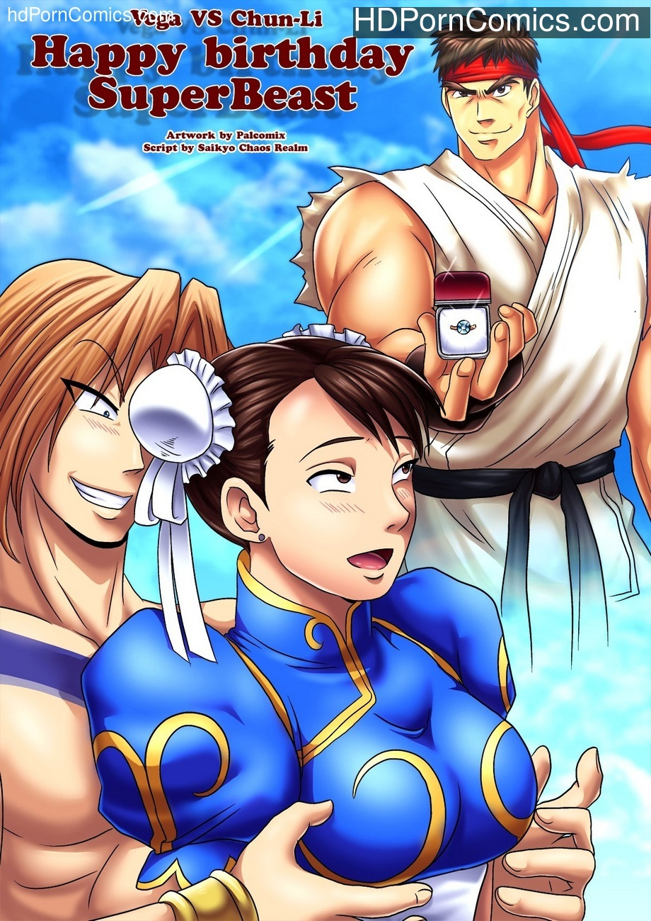Vega vs Chun-Li 2 – Happy Birthday SuperBeast Sex Comic