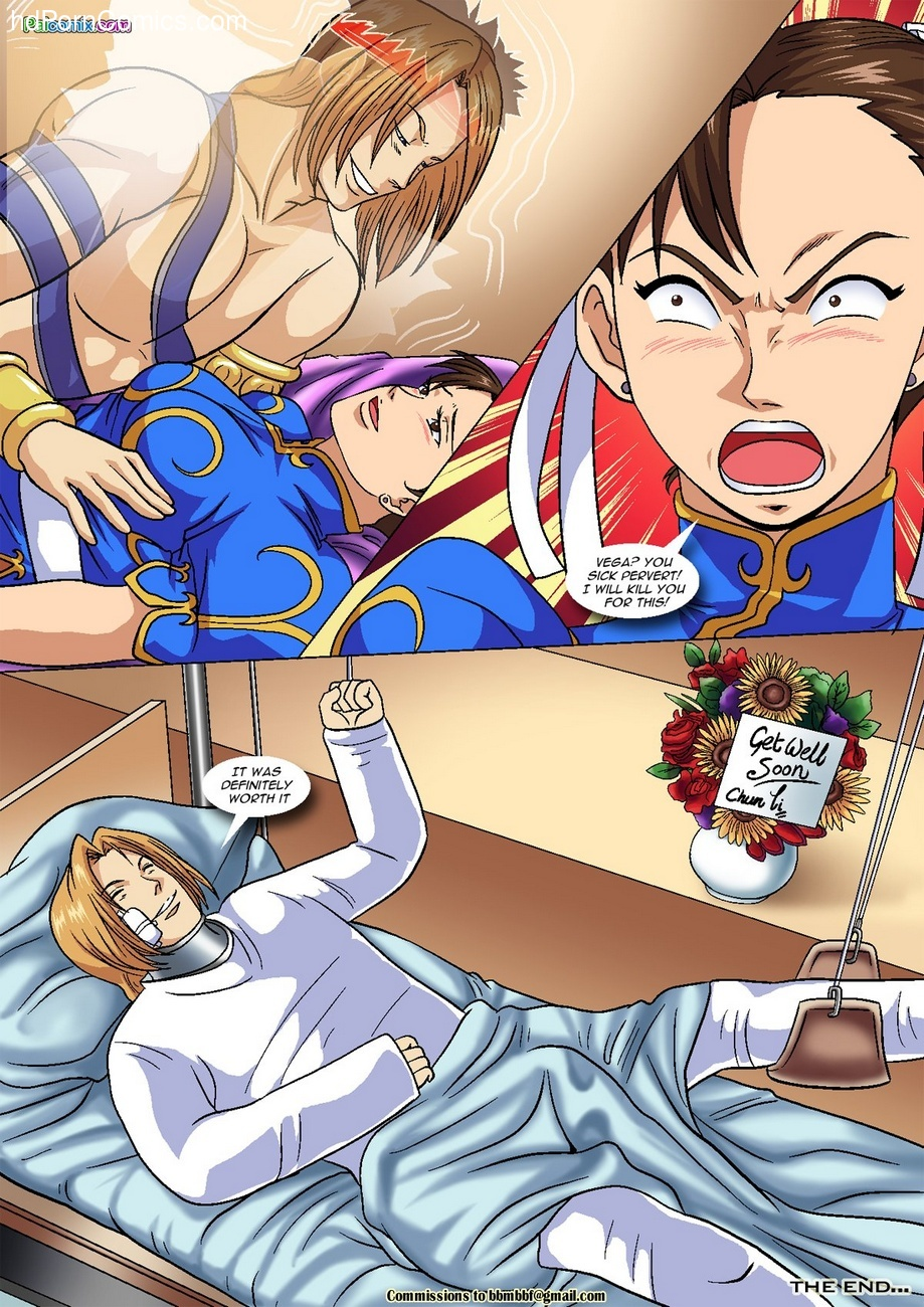 Vega vs Chun-Li 1 – Crotch Wars Sex Comic