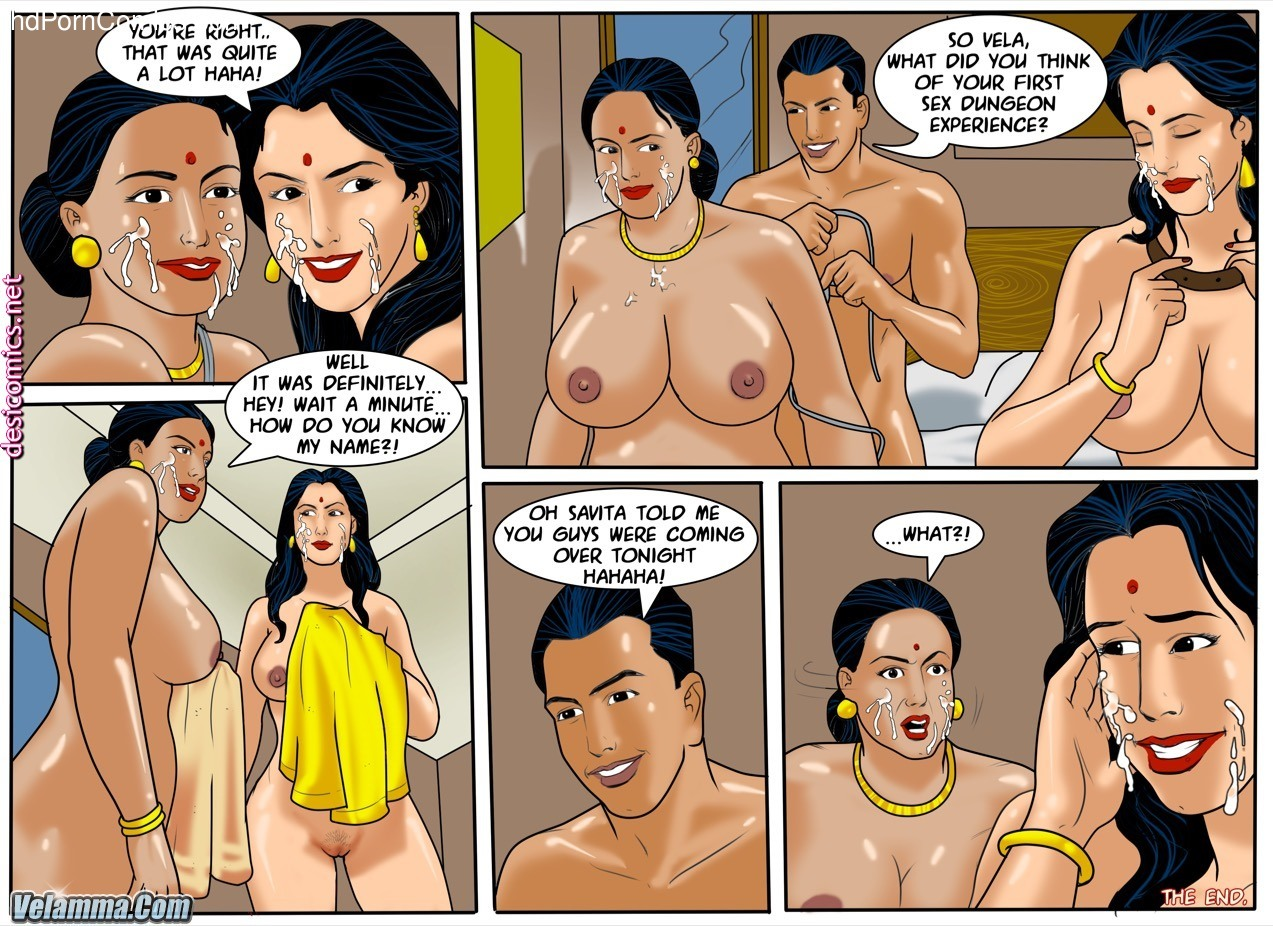 Velamma Episode 57- 50 Shades of Savita free Cartoon Porn Comic