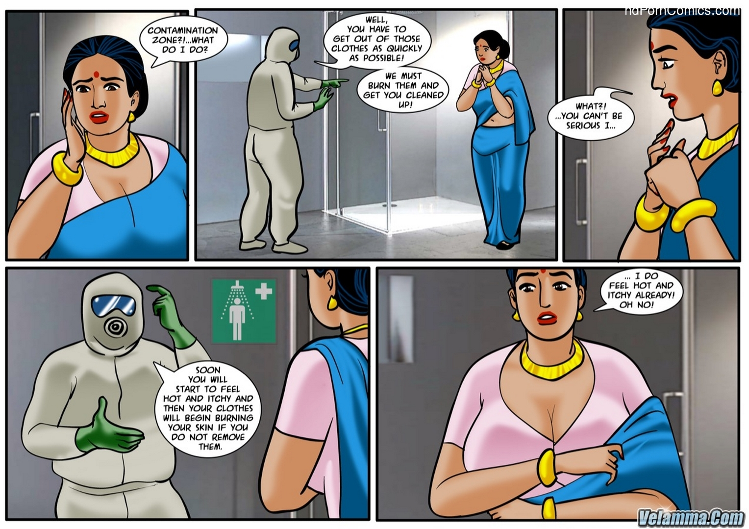 Velamma Episode 58 -Contaminated10 free sex comic