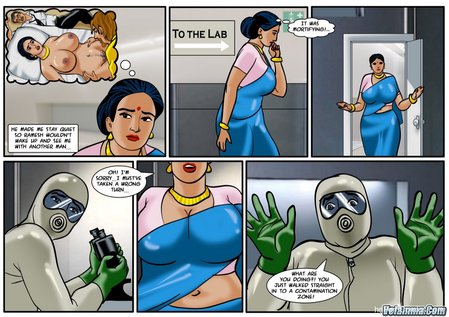 Velamma Episode 58 -Contaminated9 free sex comic