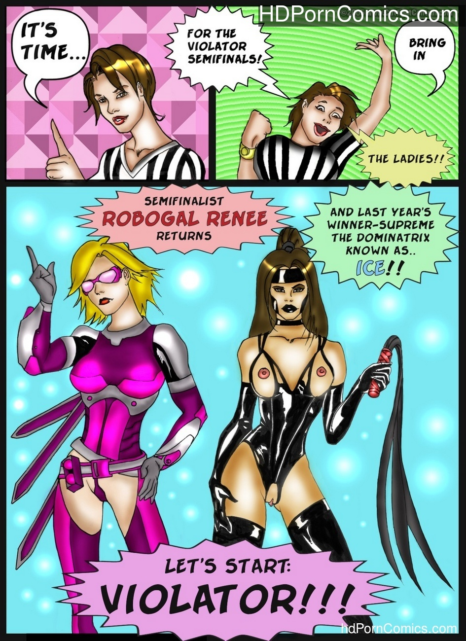 Violator 4 Sex Comic