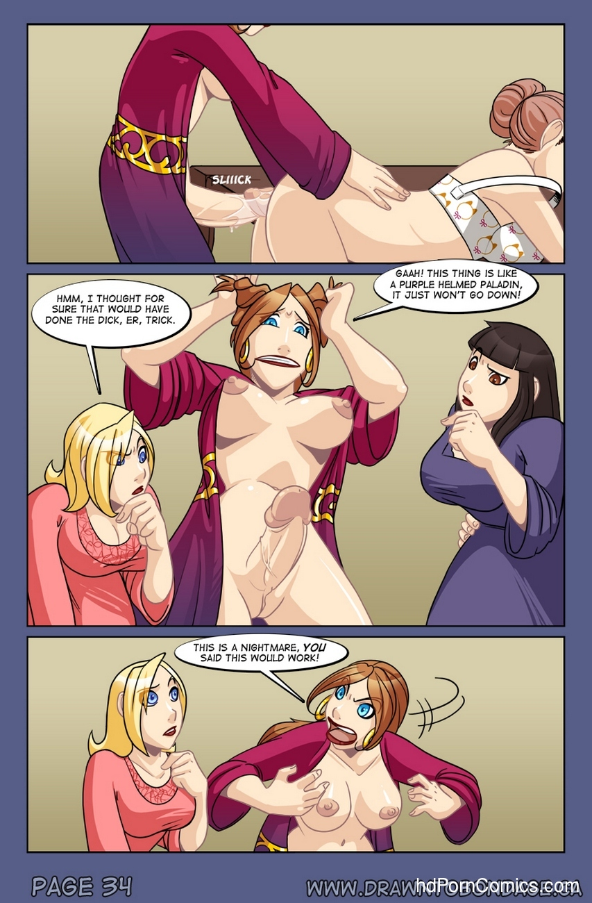 Weird Alchemy 28 free sex comic