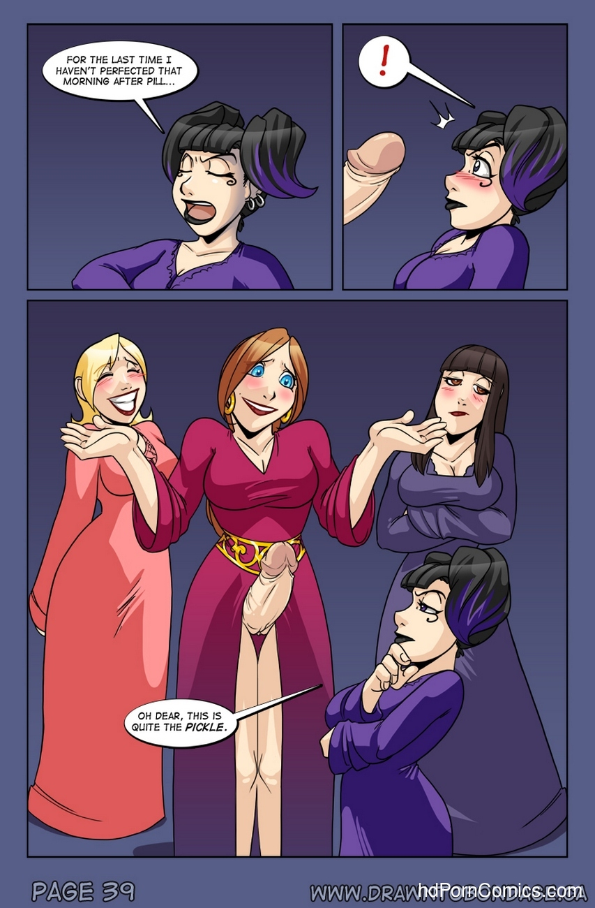 Weird Alchemy 40 free sex comic