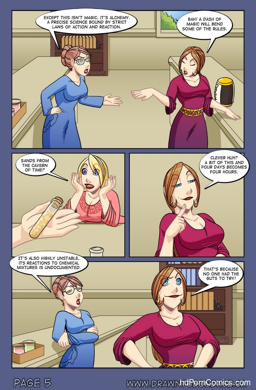 Weird Alchemy 5 free sex comic