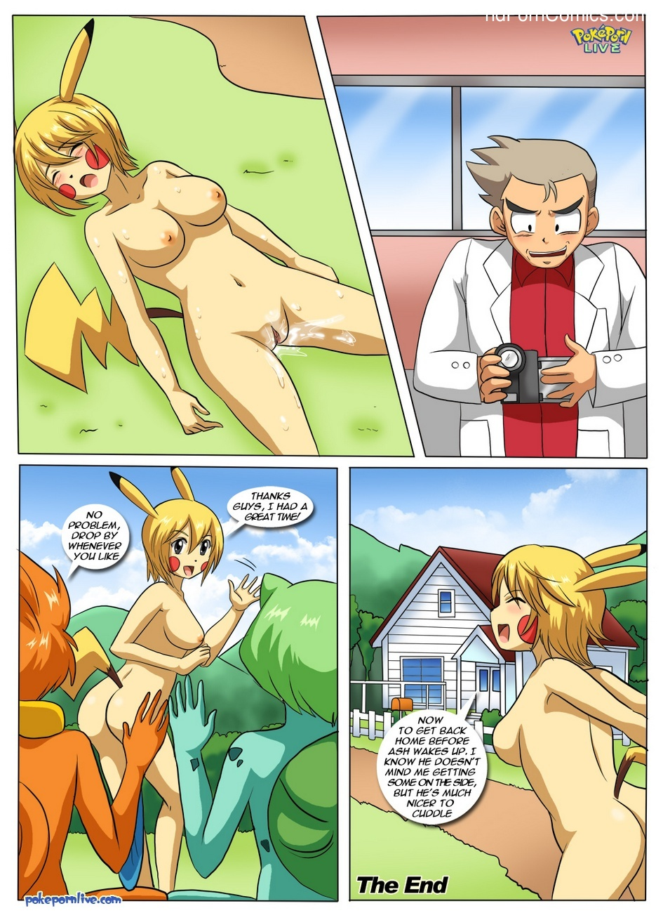 Porn Comics What Happens In Pallet Town Pokemon