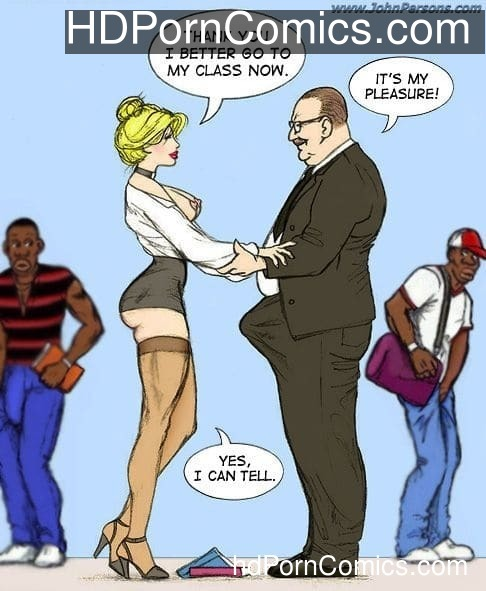 White Slut Teacher - Porncomics11 free sex comic