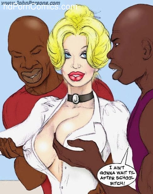 White Slut Teacher - Porncomics7 free sex comic