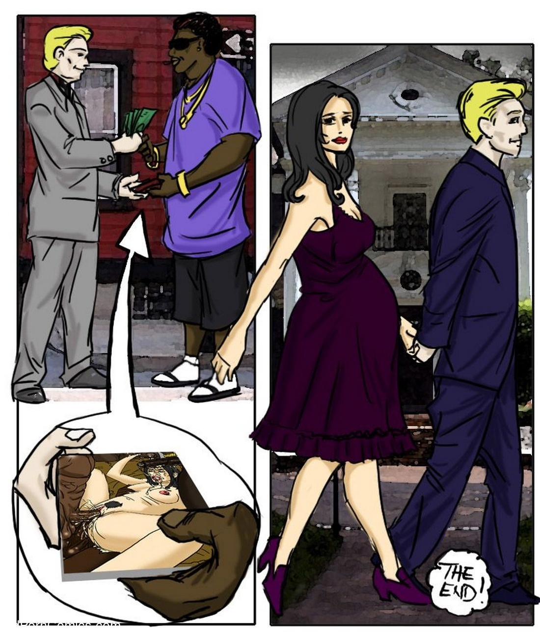 White Bitch In The Hood Sex Comic