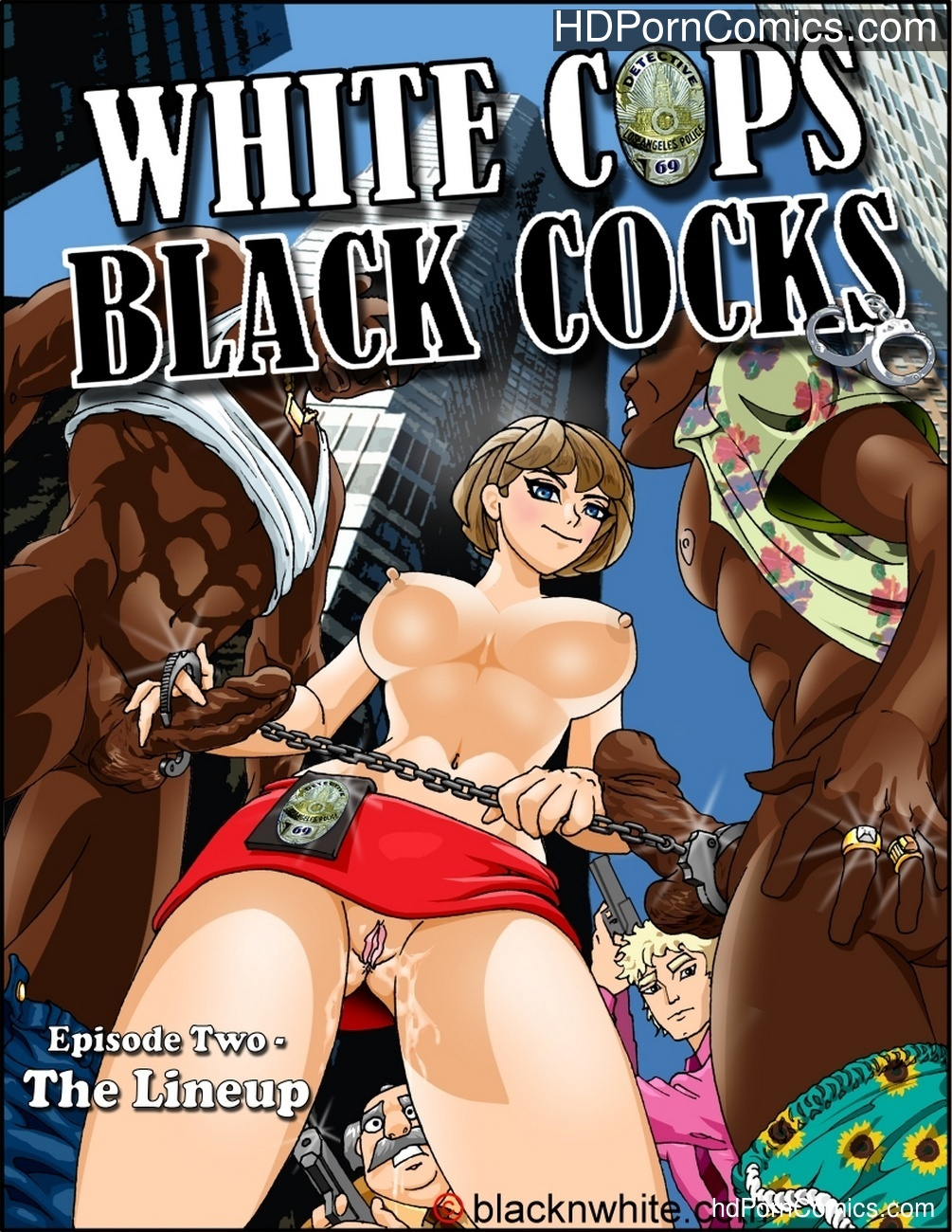 White Cops, Black Cocks 2 – The Lineup Sex Comic