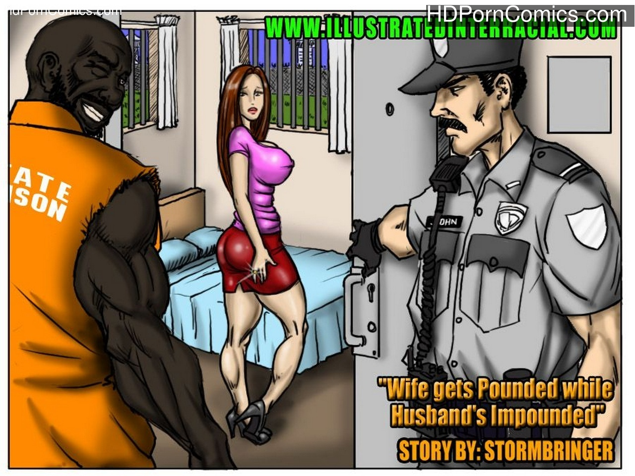 Wife Gets Pounded While Husband's Impounded Sex Comic