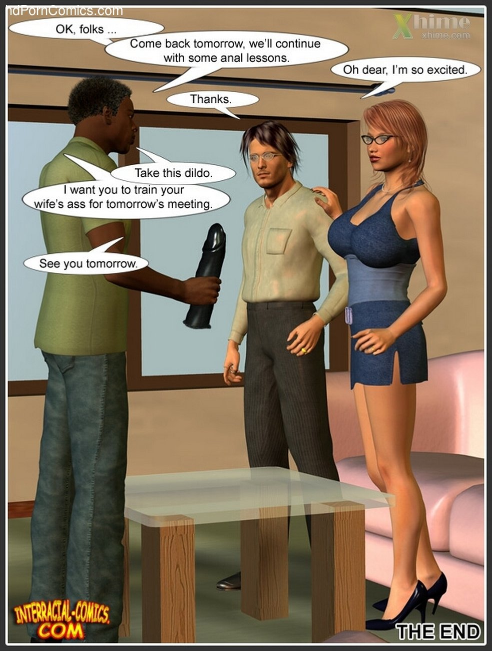 Wife Service Sex Comic