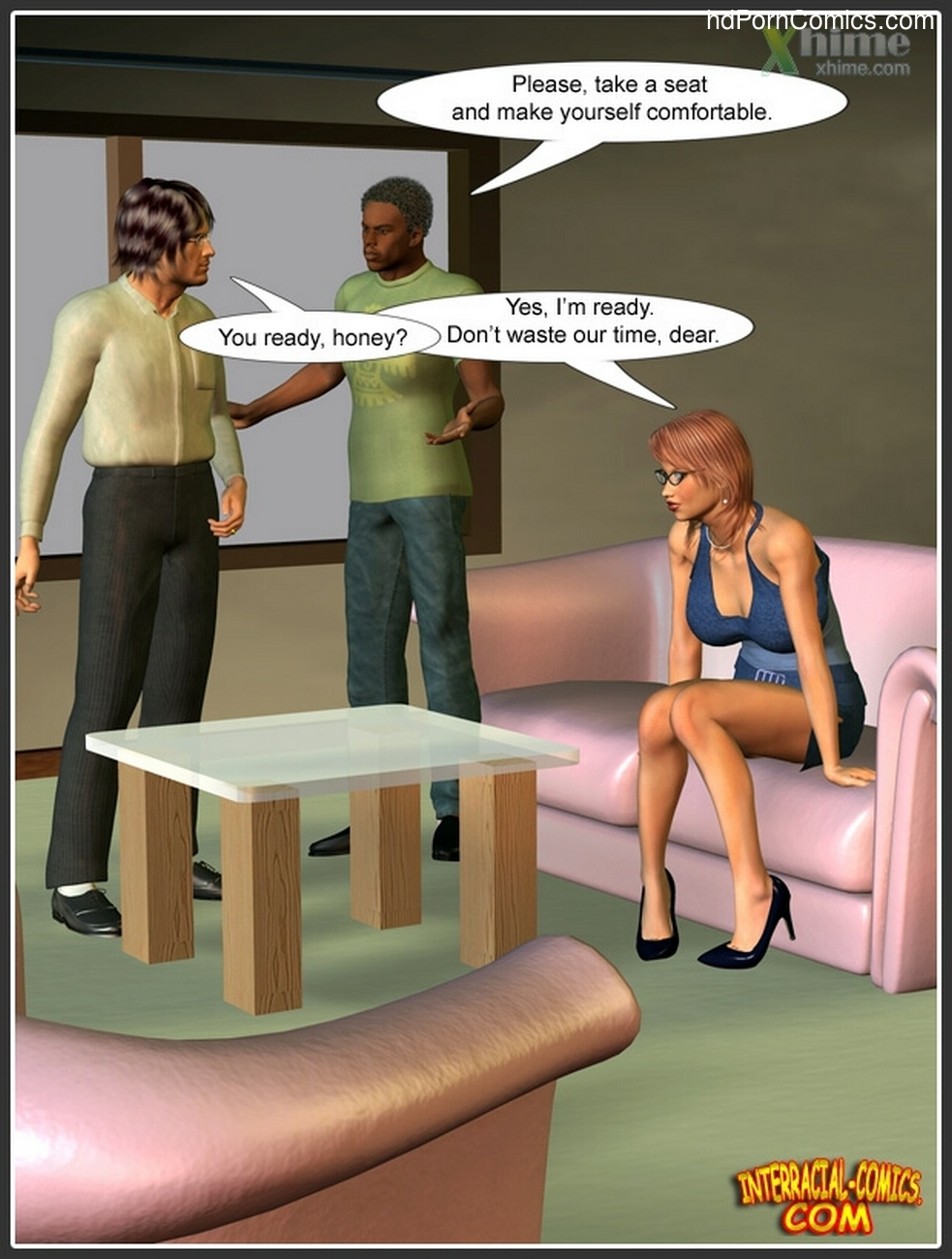 Wife Service 3 free sex comic