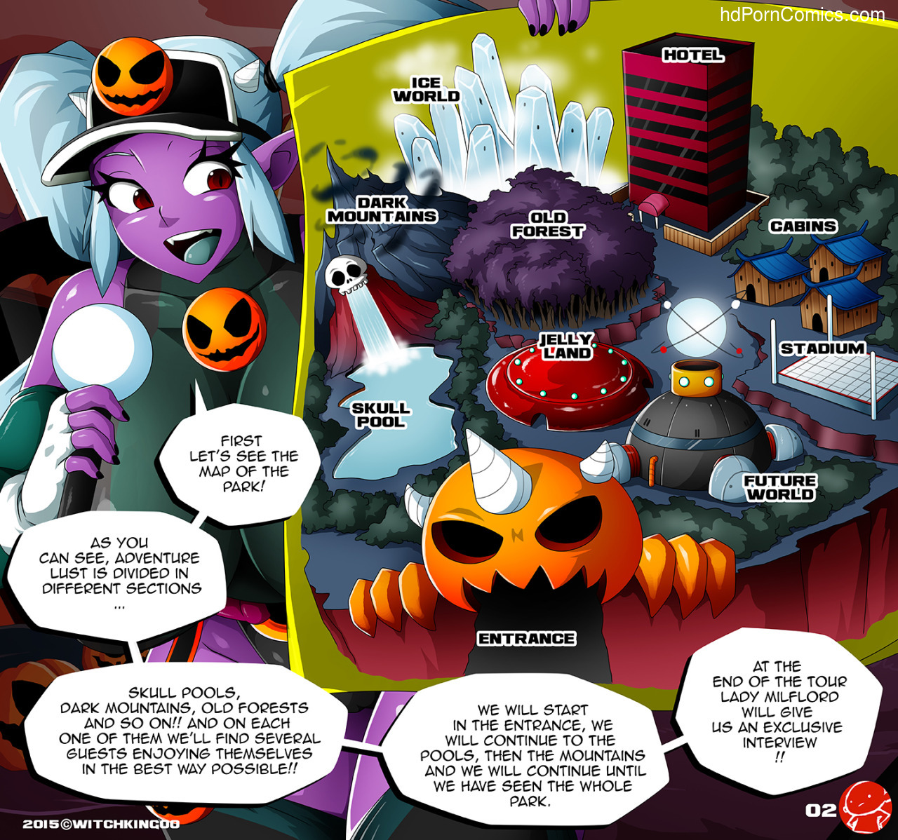halloween hentai lesbians - ... Witchking00 – Super Special Halloween 20153 free sex comic