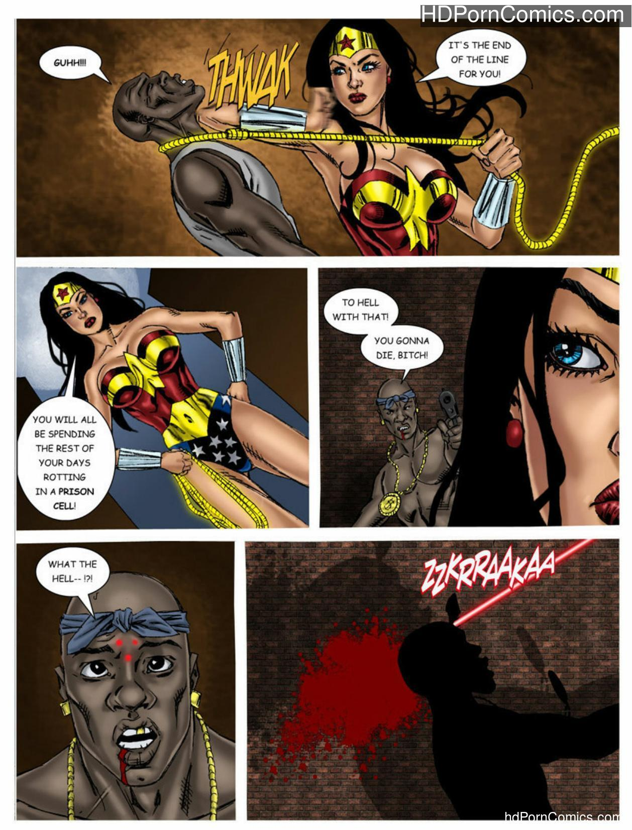 Wonder Woman vs Predator – Part 1-311 free sex comic