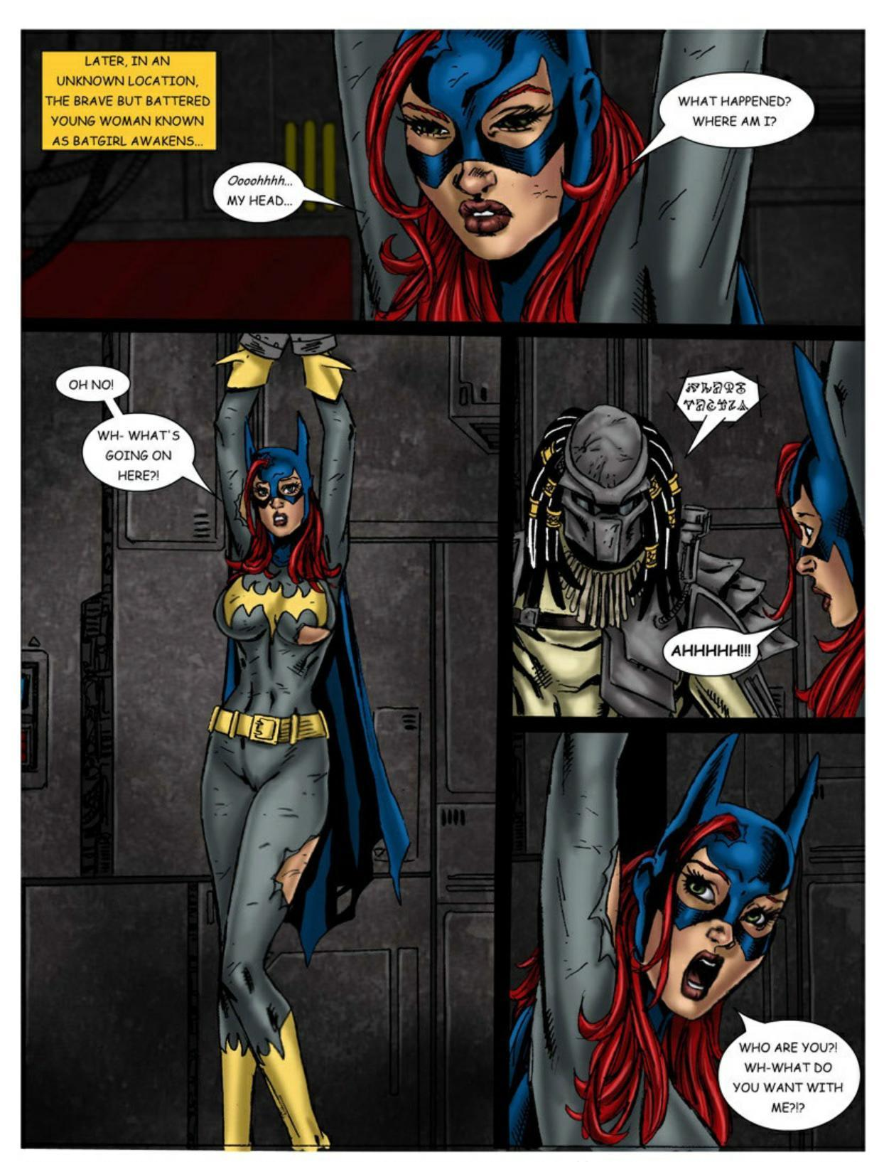 Wonder Woman vs Predator – Part 1-336 free sex comic