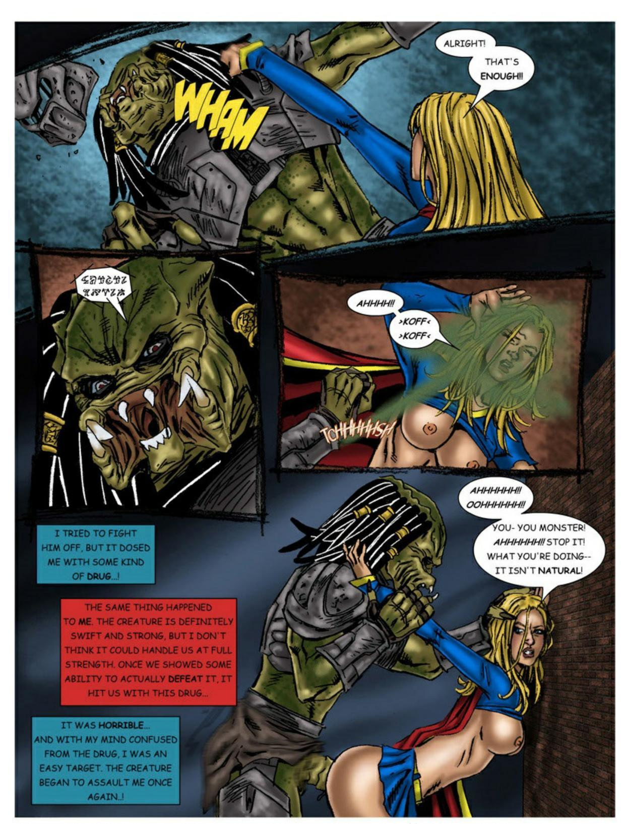 Wonder Woman vs Predator – Part 1-345 free sex comic