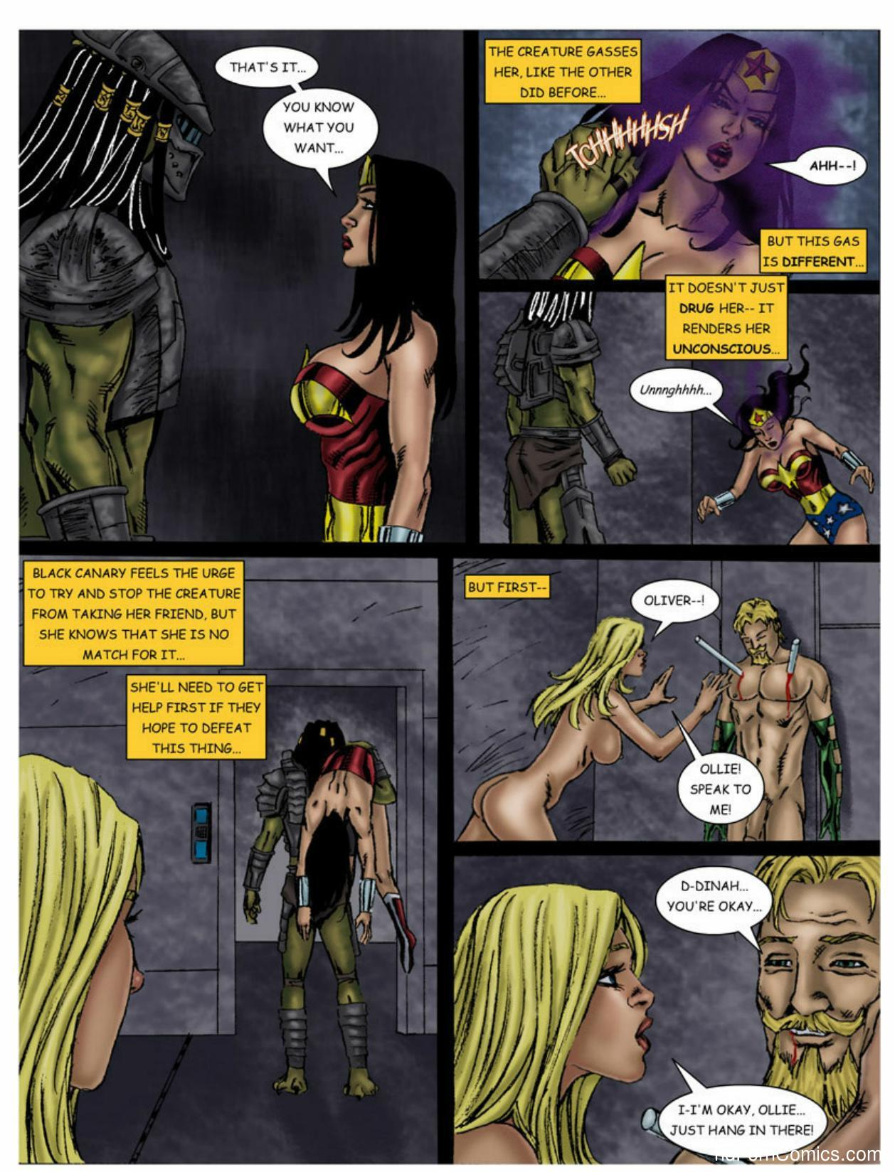 Wonder Woman vs Predator – Part 1-365 free sex comic