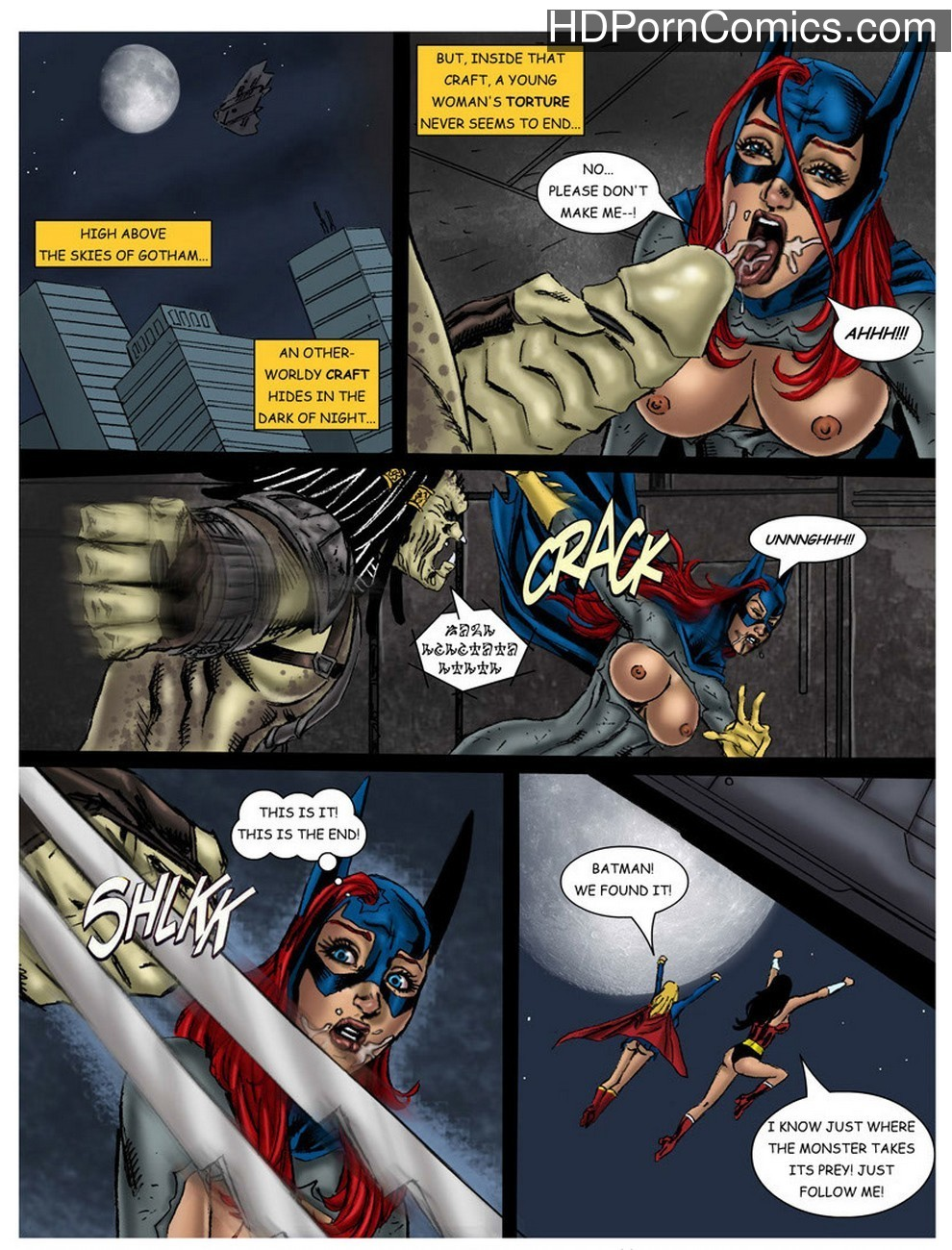 Wonder Woman - In The Clutches Of The Predator 2 21 free sex comic