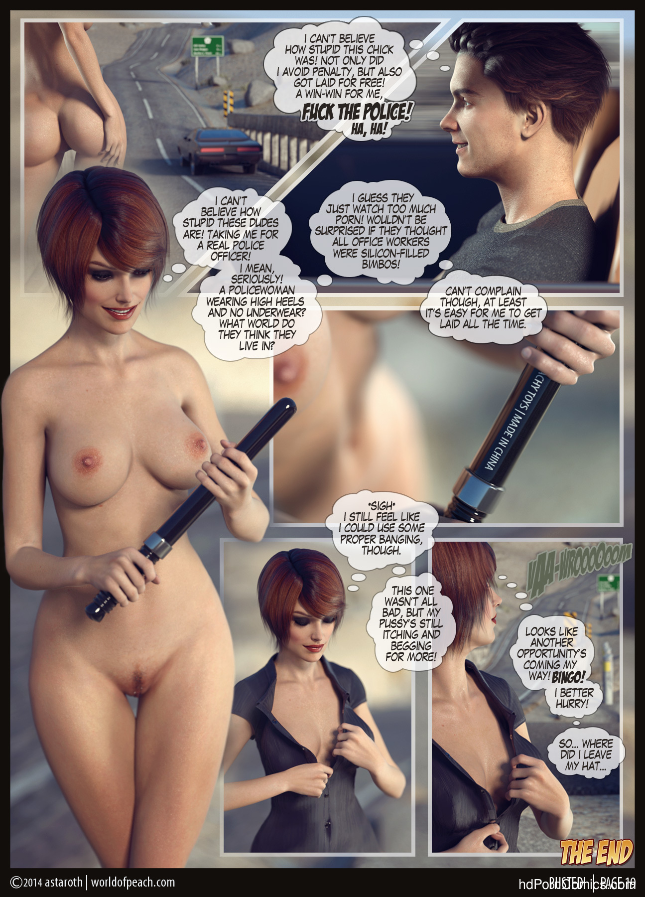World of Peach – Busted! free Cartoon Porn Comic