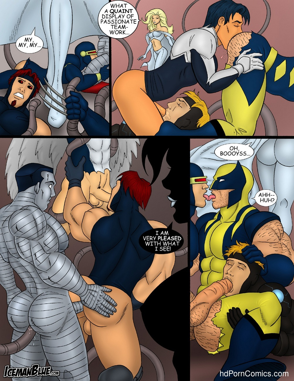X-Men 10 free sex comic