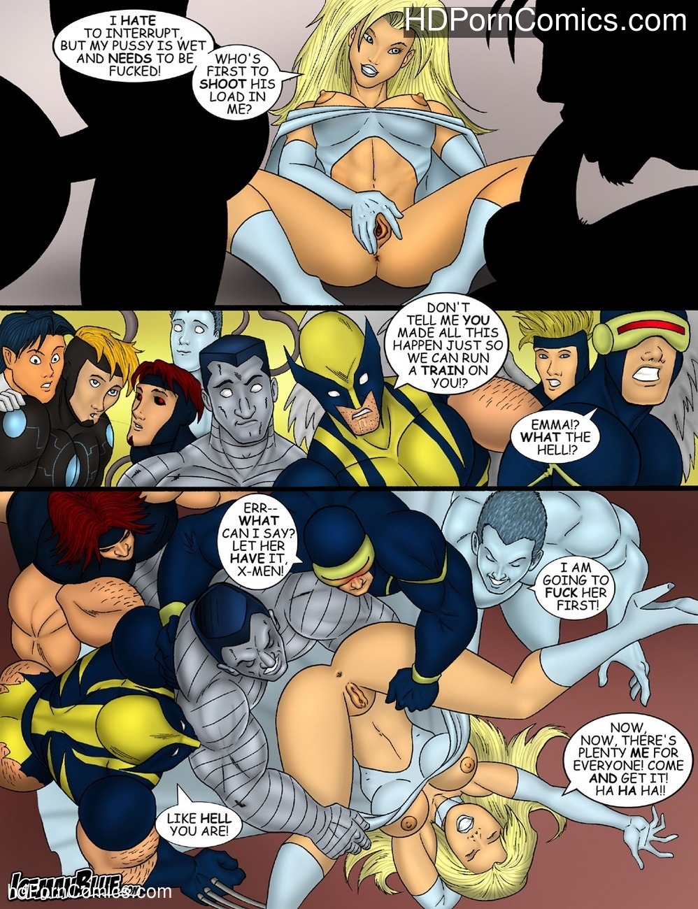 X-Men 11 free sex comic