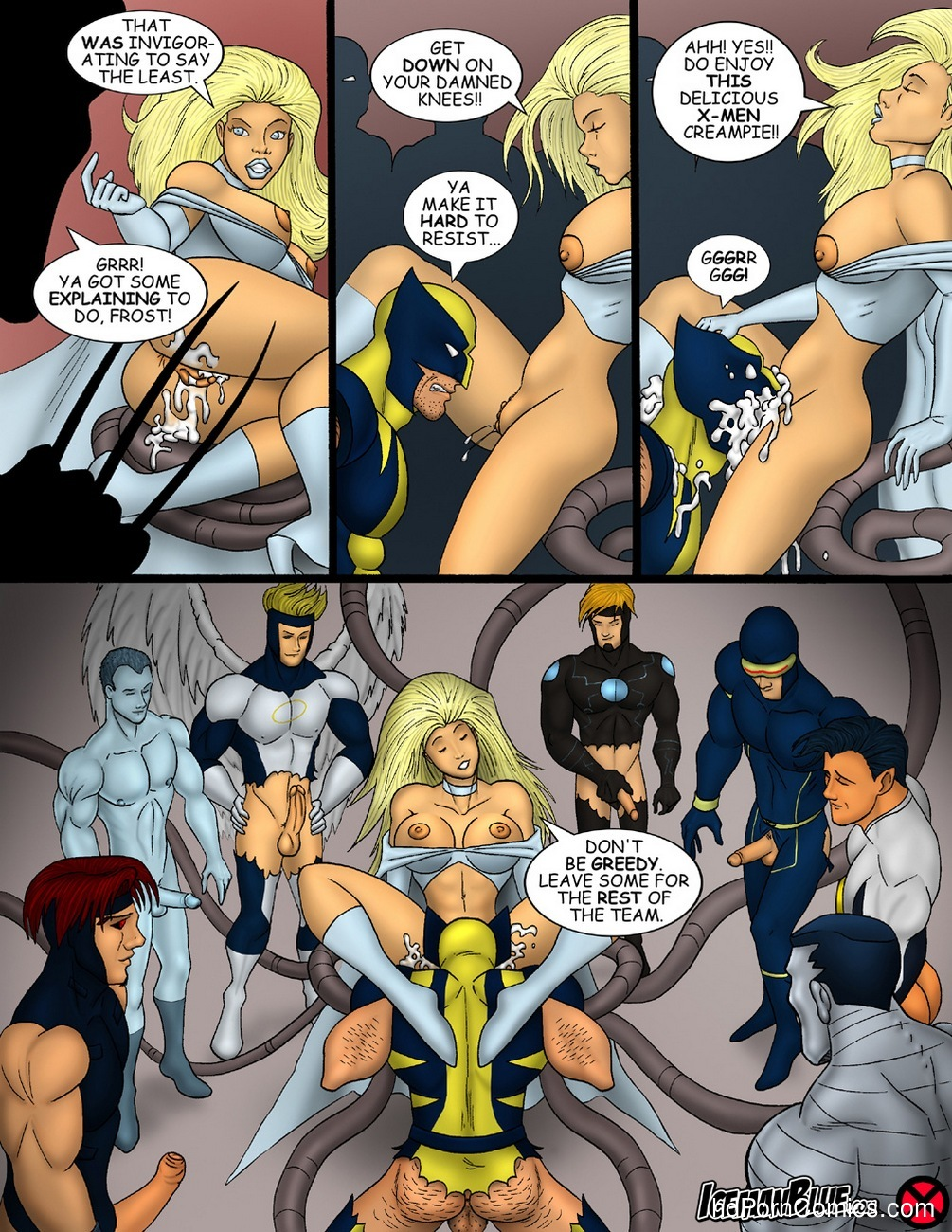 X-Men Sex Comic