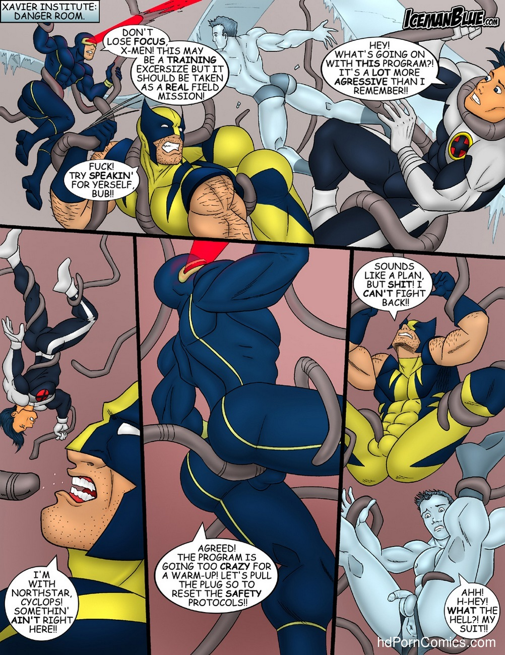X-Men 2 free sex comic