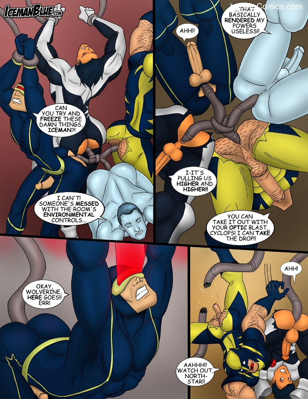 X-Men 4 free sex comic