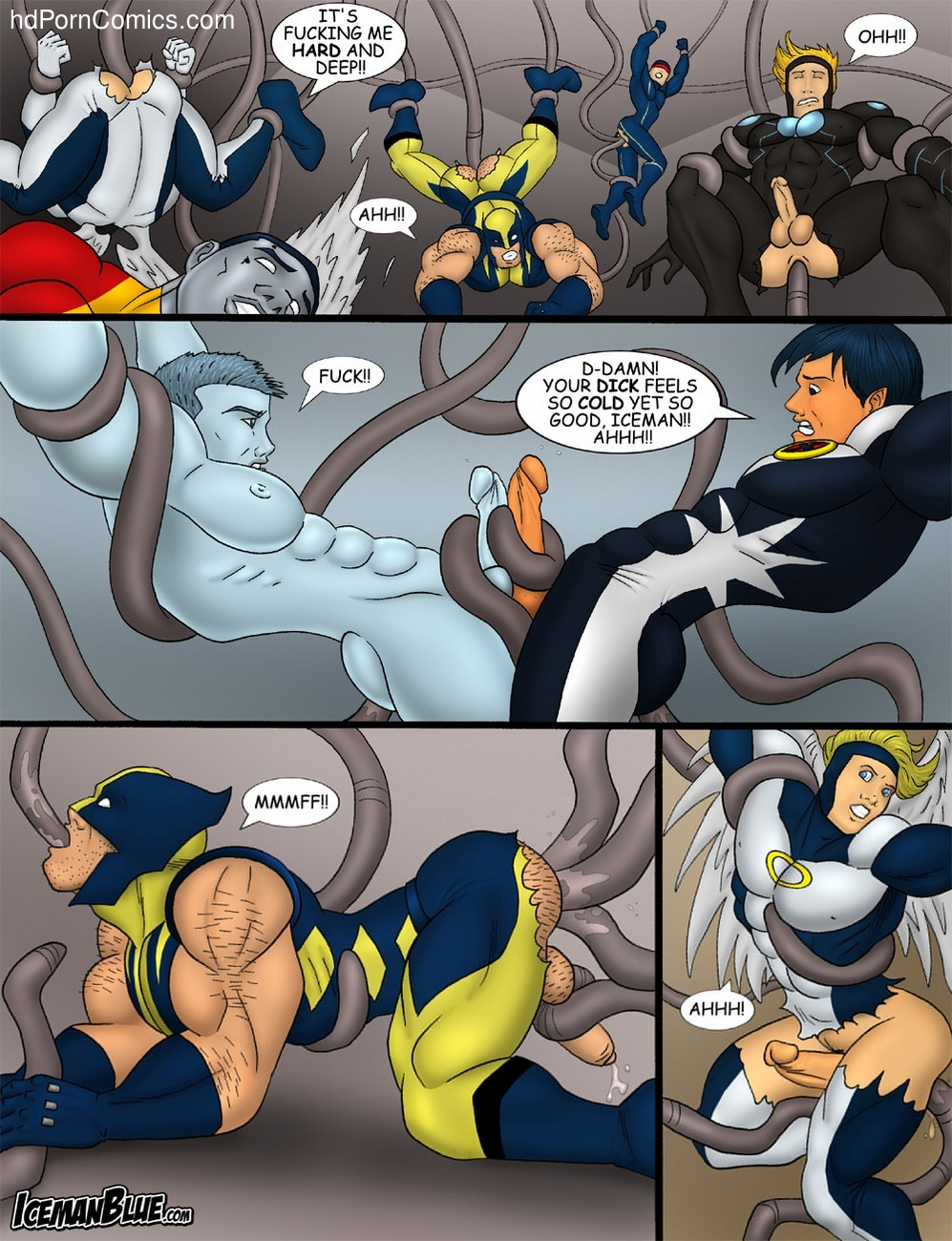 X-Men 6 free sex comic