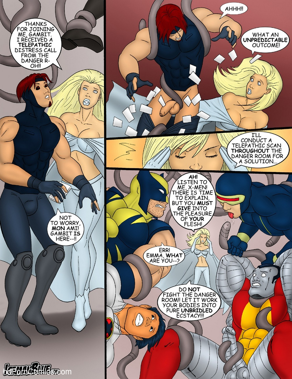 X-Men 7 free sex comic
