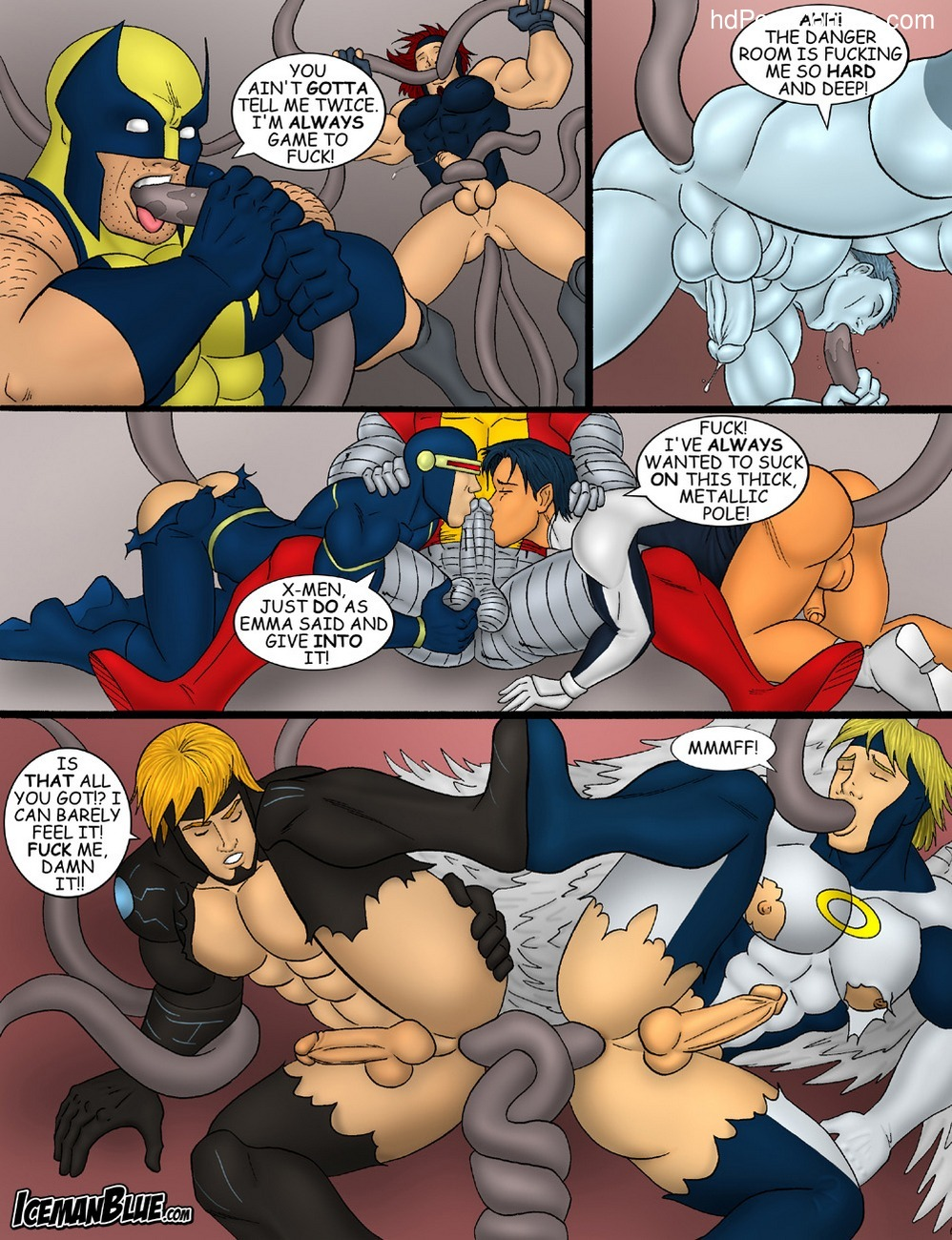 X-Men 8 free sex comic
