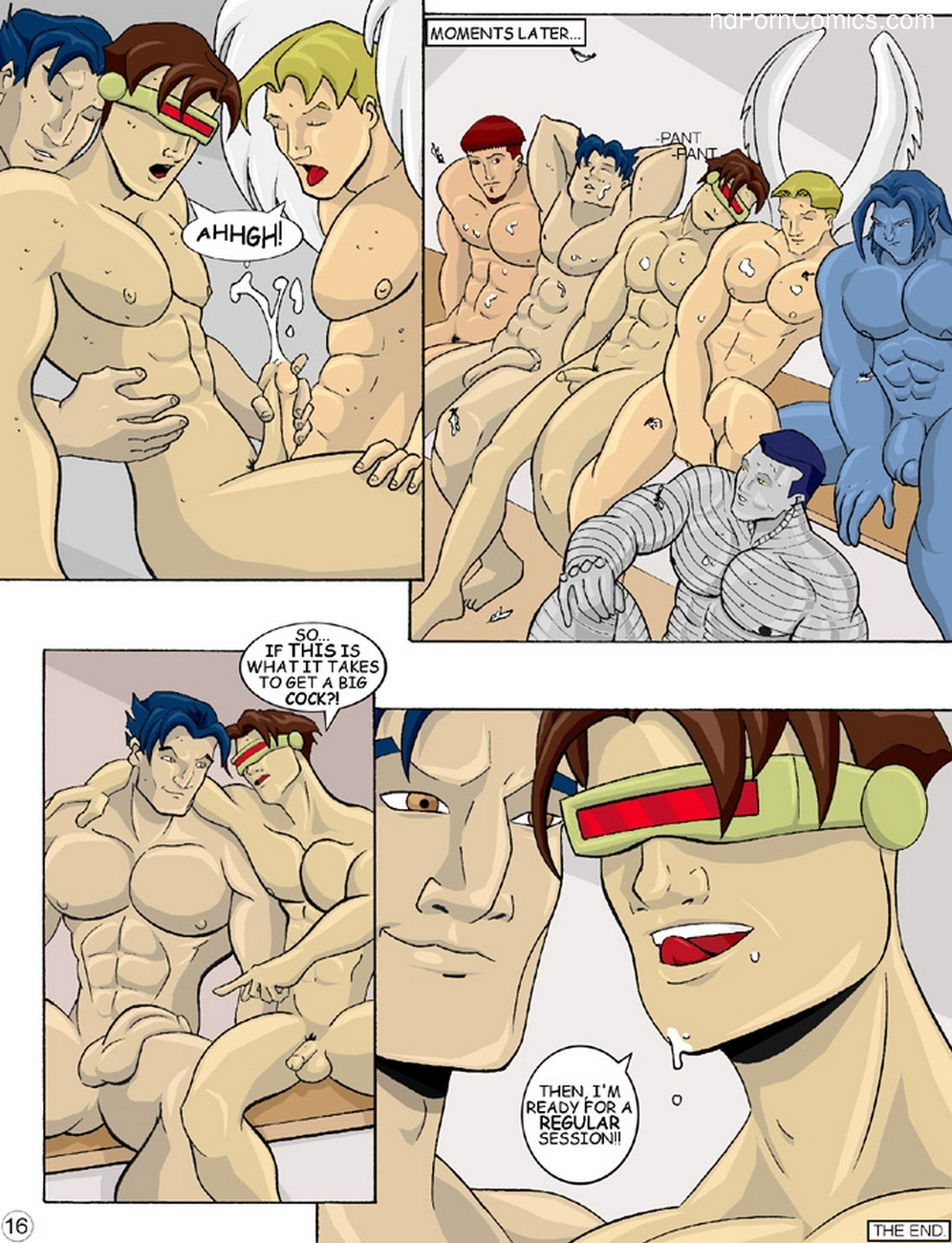 X-Men Evoloution Sex Comic
