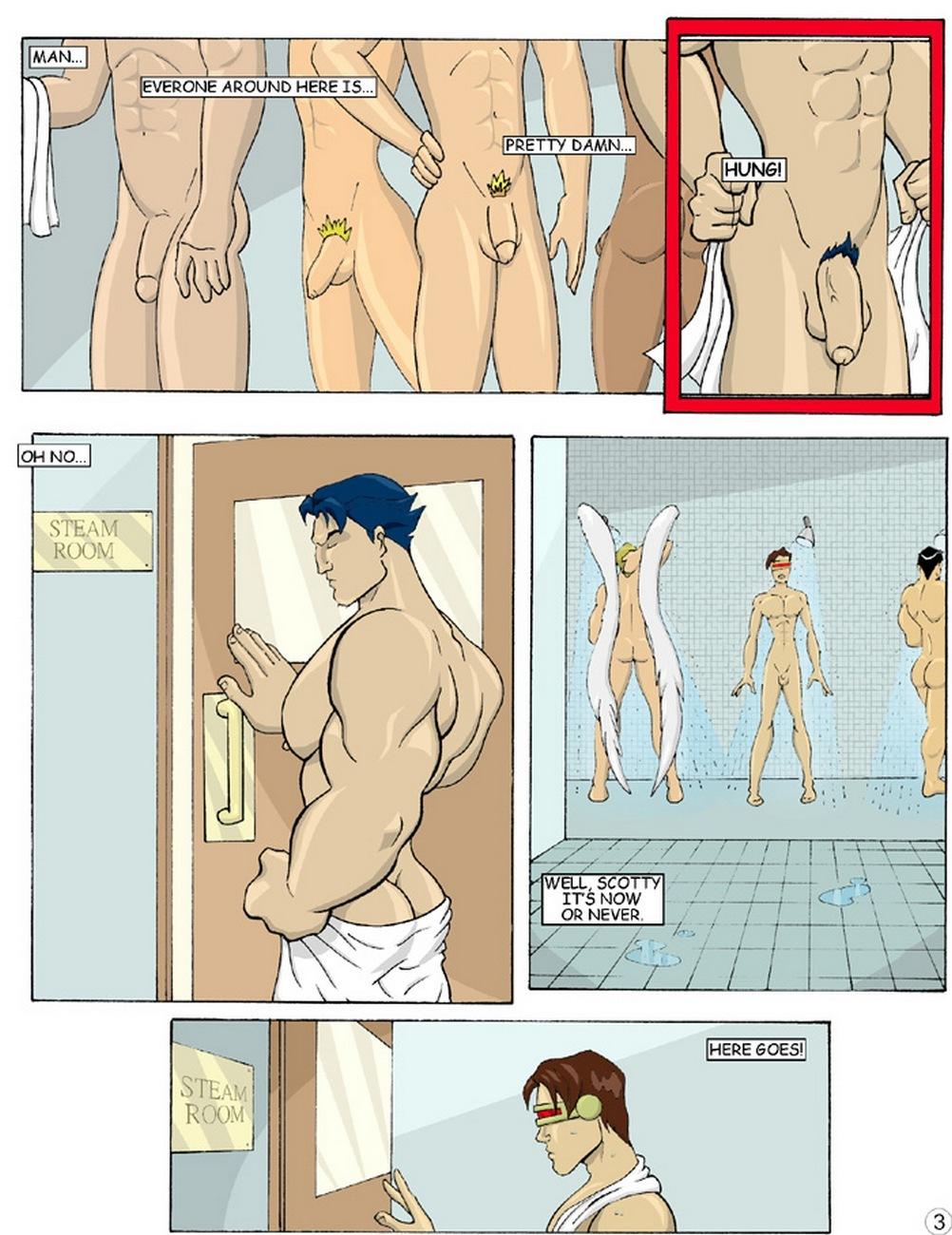 X-Men Evoloution 4 free sex comic