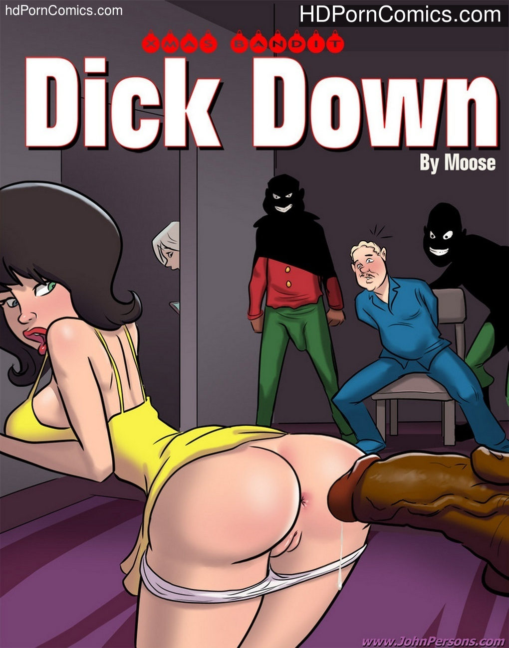 XMas Bandit – Dick Down Sex Comic