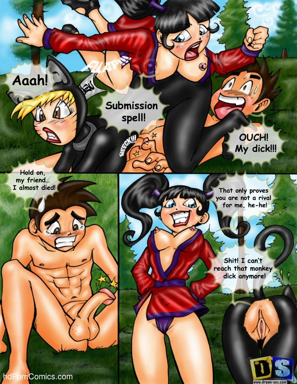 Xiaolin Showdown 7 free sex comic