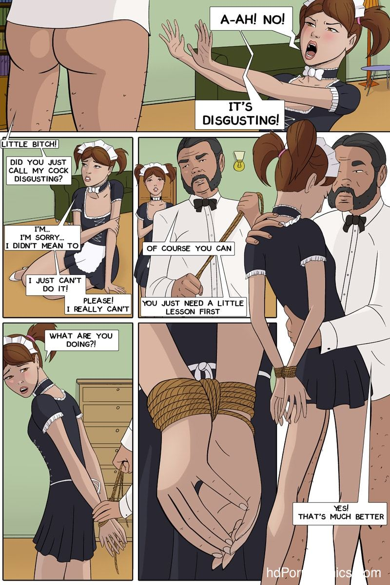 Xxx Comics-CherrySock – Maid in Distress Part10 free sex comic