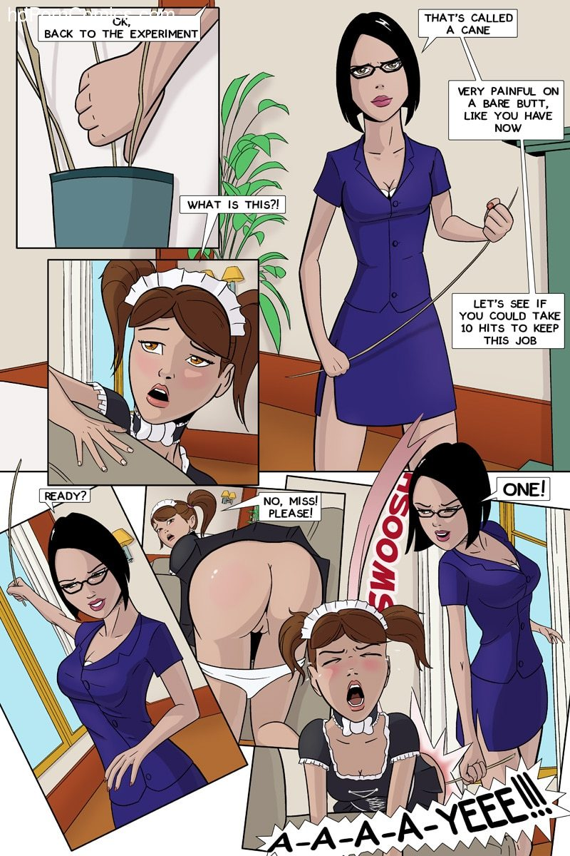 Xxx Comics-CherrySock – Maid in Distress Part28 free sex comic