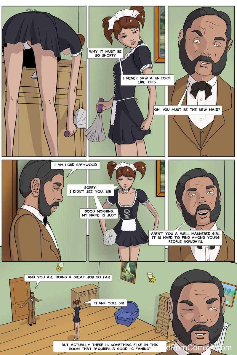 Xxx Comics-CherrySock – Maid in Distress Part6 free sex comic