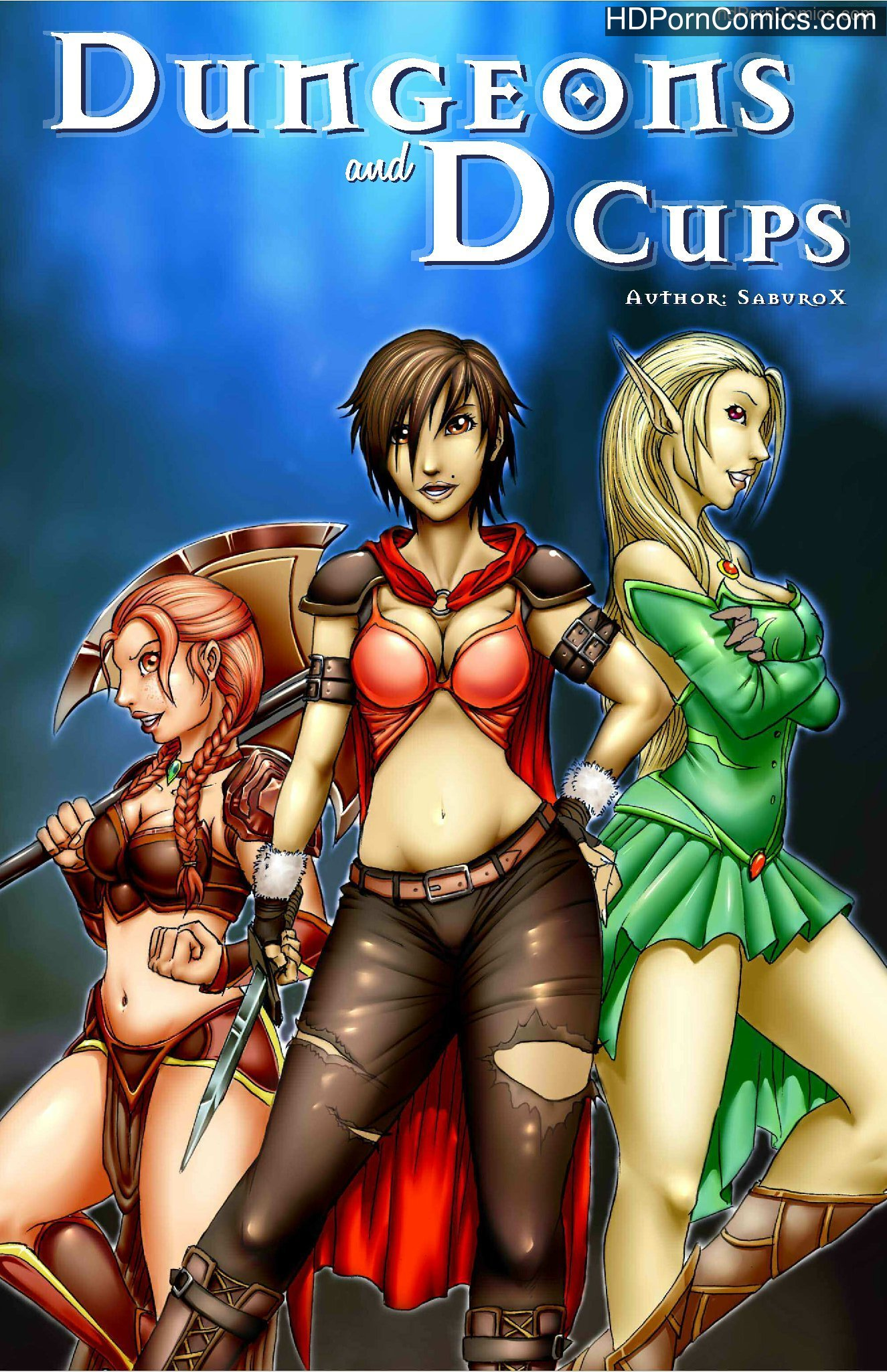 Xxx Comics-Dungeons and D Cups free Porn Comic