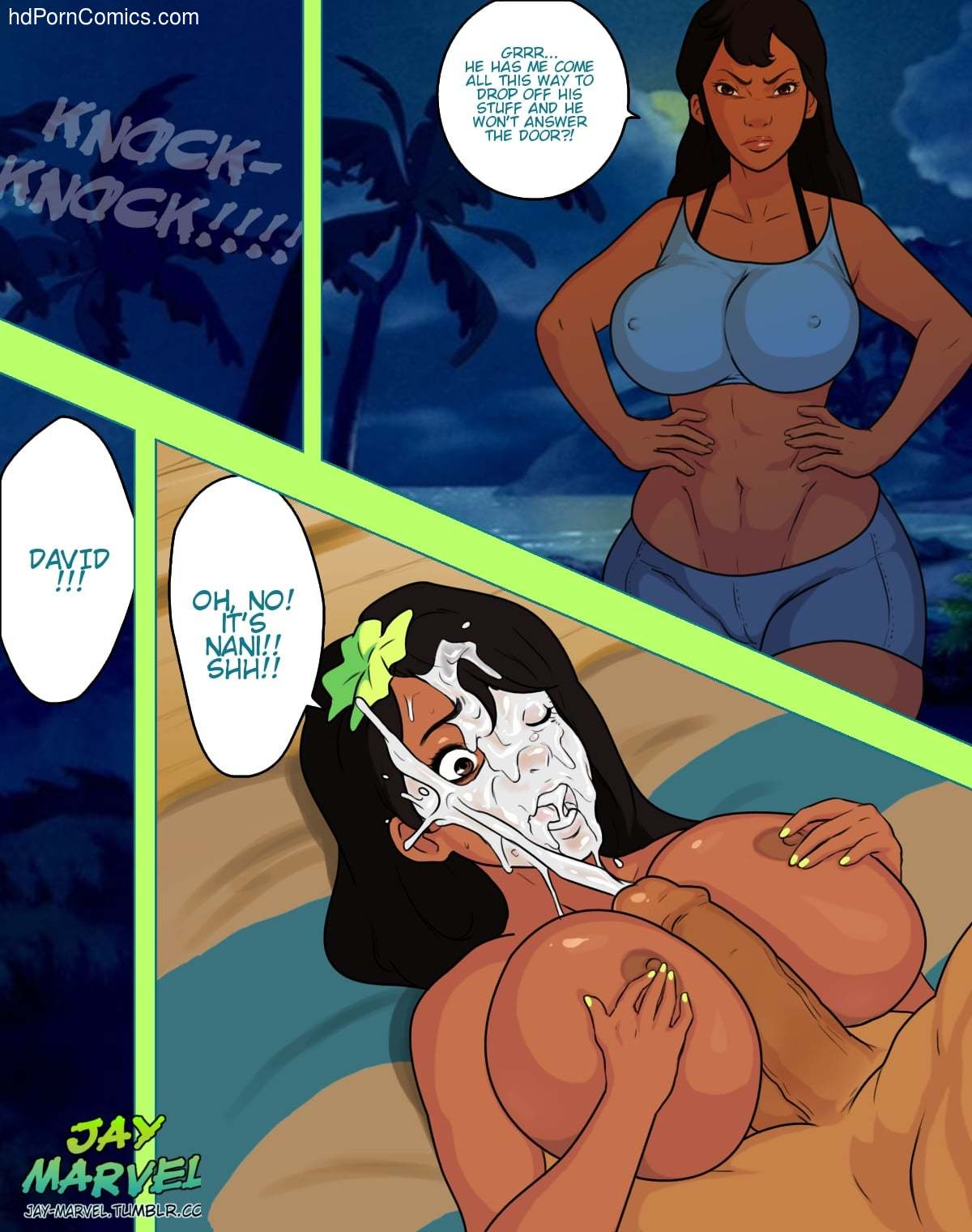 Xxx Comics-Jay-Marvel-Lilo (Lilo & Stitch)3 free sex comic