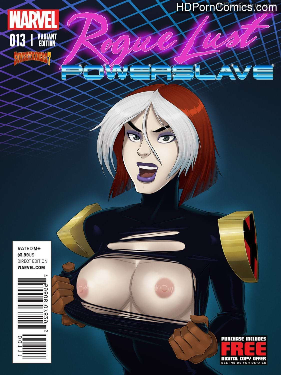 Xxx comic- WARVEL- Rogue Lust Powerslave1 free sex comic